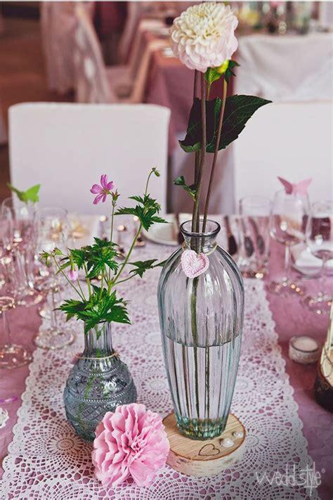 Tischdeko Ohne Tischdecke by Pinke Tischdecke Mit Wei 223 Em Tischl 228 Ufer Vintage Deko Zum