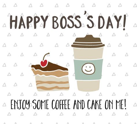 coffee  cake  bosss day  happy bosss day