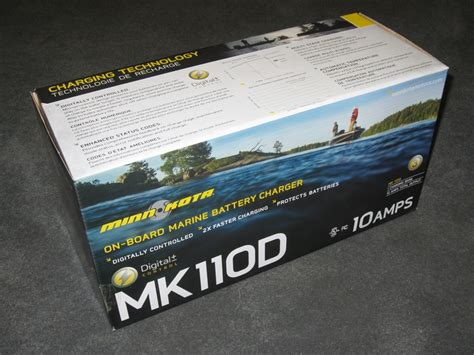 Marine Battery Charger Overcharging by New Minn Kota Mk110d On Board Boat Battery Charger 10