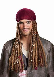 Jack Sparrow Bandana w/ Dreads for Adults