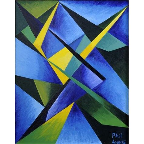 Abstract Shape Images by Geometric Shapes Paintings