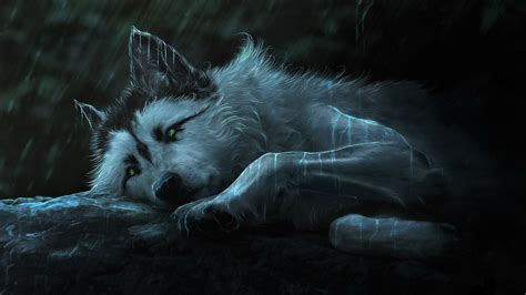 1080p Alpha Wolf Wallpaper by Wolf Painting Hd 4k Wallpaper