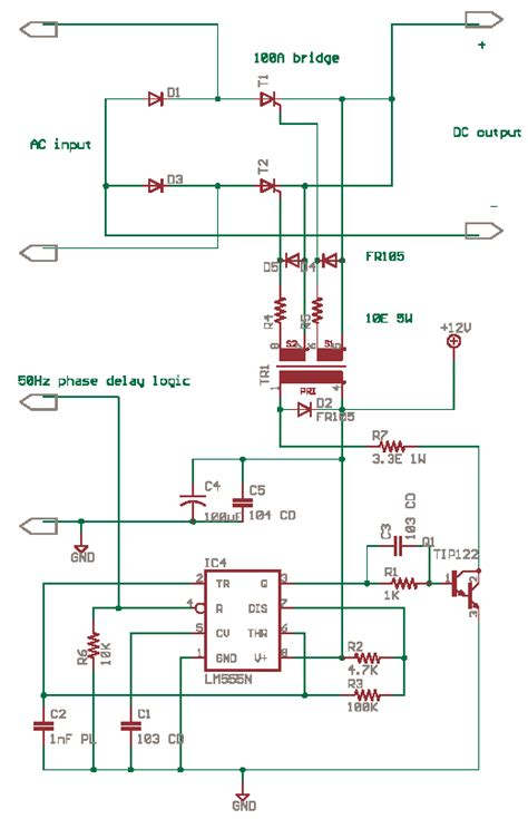 Drive Scr Thyristor With Delabs