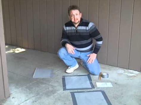 Concrete Moisture Test Using Plastic Sheet Method ? What