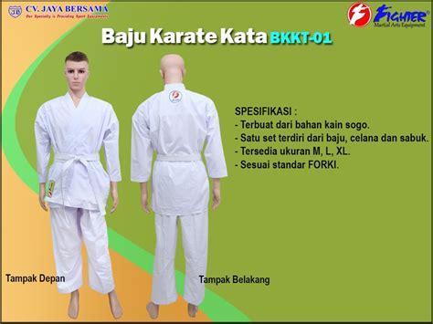 baju karate wkf figther martial arts jual alat beladiri di jakarta