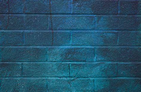 brick wall with blue paint clippix etc educational