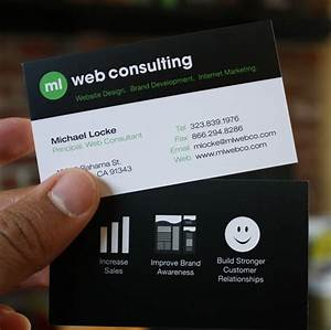 Gallery for gt it consulting business cards for Consulting business cards