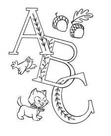 Coloring Alphabet Letters for Pre-K
