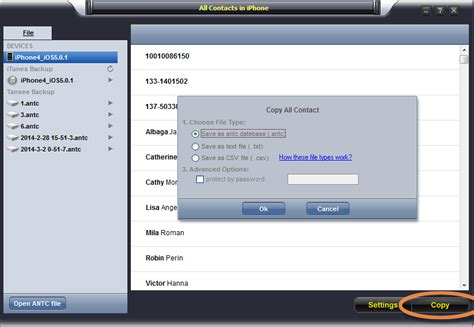 iphone contacts backup 2 methods to transfer contacts from iphone to samsung