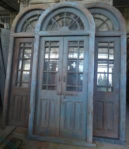 porte interieure ancienne vitree 2 vantaux avec imposte With porte d entrée pvc avec meuble salle de bain 2 vasques 120