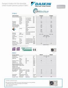 Clim Sans Groupe Exterieur Daikin : climatiseur daikin ftxb50c rxb50c ~ Dailycaller-alerts.com Idées de Décoration