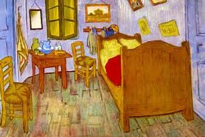 Stampa la camera da letto ad arles su poster e quadri