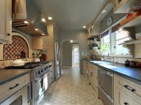 galley style kitchen remodel ideas how to decorate a galley kitchen hgtv pictures ideas hgtv