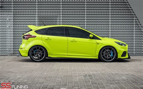 Tuned Focus Rs by Ss Tuning Ford Focus Rs 2015 Vw Gti Club