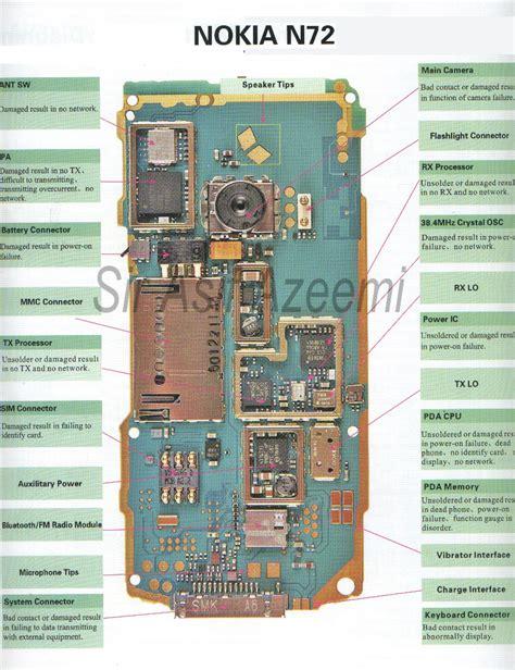mobile phone circuit diagram  mobilerepairingonline