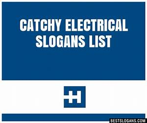 30+ Catchy Electrical Slogans List, Taglines, Phrases