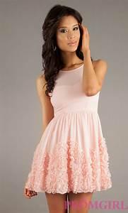 Teen short prom dresses