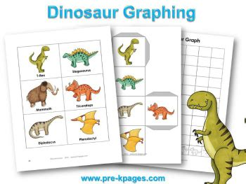 dinosaur theme preschool lesson plans and activities 477 | dinosaur graphing