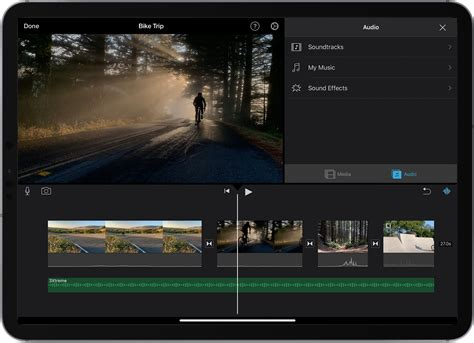 Add music, sound effects and voiceover in iMovie – Apple ...