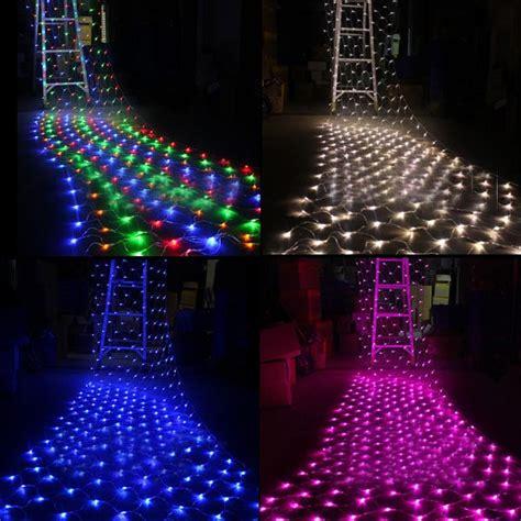 free shipping 1 5mx1 5m 100 led outdoor net lights