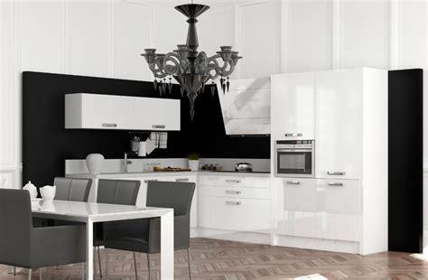 meuble de cuisine noir et blanc cuisine blanc et noir photo 13 25 des meubles laqués