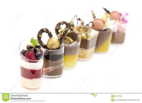 canape desserts dessert canapes stock photo image 61221322