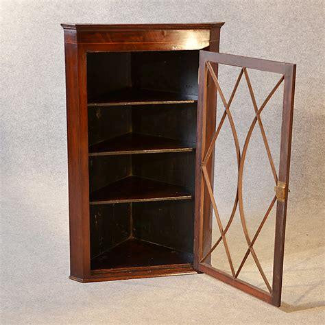 mahogany corner display cabinet antique corner display cabinet georgian ma 7319