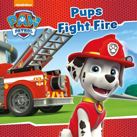 paw patrol story book pups fight fire kids books