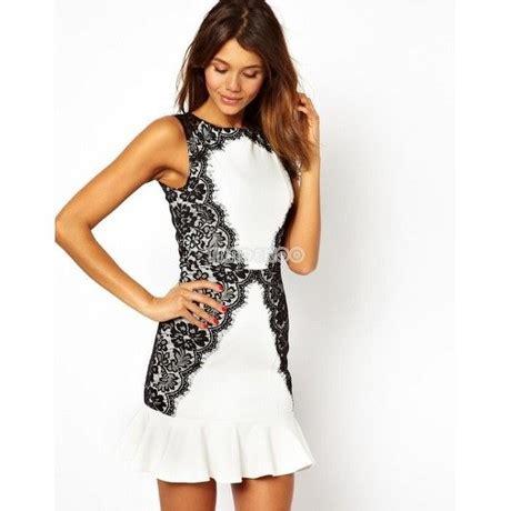 robe de mariã e noir et blanche robe de soirée courte noir et blanche