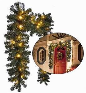 Weihnachtsgirlanden Innen Mit Beleuchtung : weihnachtsgirlande mit beleuchtung f r aussen deko tannengirlande led wei f r au en 270 cm ~ Sanjose-hotels-ca.com Haus und Dekorationen