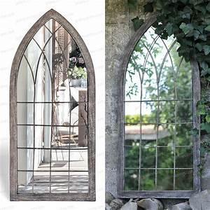 Miroir De Porte à Suspendre : miroir fen tre de jardin 109cm mobilier de jardin ~ Teatrodelosmanantiales.com Idées de Décoration