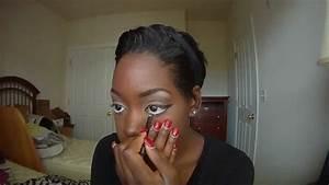 Pin up Girl Makeup Turtorial - YouTube