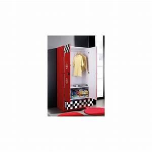 Meuble Pompe A Essence : armoire enfant pompe essence rouge 2 portes 1 tiroir achat vente armoire de chambre pas cher ~ Teatrodelosmanantiales.com Idées de Décoration