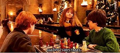 Hogwarts Potter Harry Dinner Christmas Hall Weasley