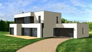 maison contemporaine dominique charles 9856jpg 650x369 With beautiful plan de belle maison 6 maison moderne minecraft plan
