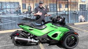 Can-am Spyder Rs S In Neutron Green Metallic