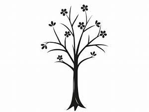 Baum Mit Blüten : wandtattoo baum mit bl ten und bl ttern als wandtattoo ~ Michelbontemps.com Haus und Dekorationen