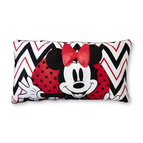 minnie mouse pillow disney minnie mouse microfleece pillow home bed