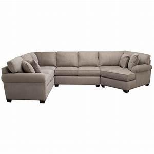 Art van marisol iii 3 piece sectional overstock shopping for Red sectional sofa art van