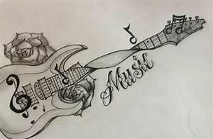 Guitar tattoo | tattoos and body art | Pinterest | Guitar ...