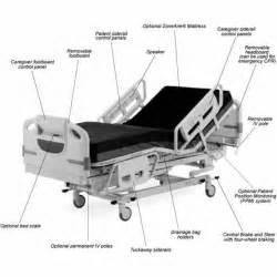 hill rom advanta hospital bed p1600 mfi