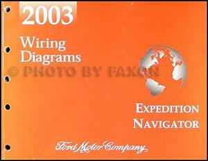 2003 Expedition  U0026 Navigator Repair Shop Manual 2 Volume Set Original