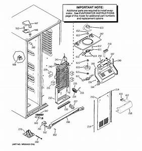 Kitchenaid Side By Refrigerator Parts Diagram