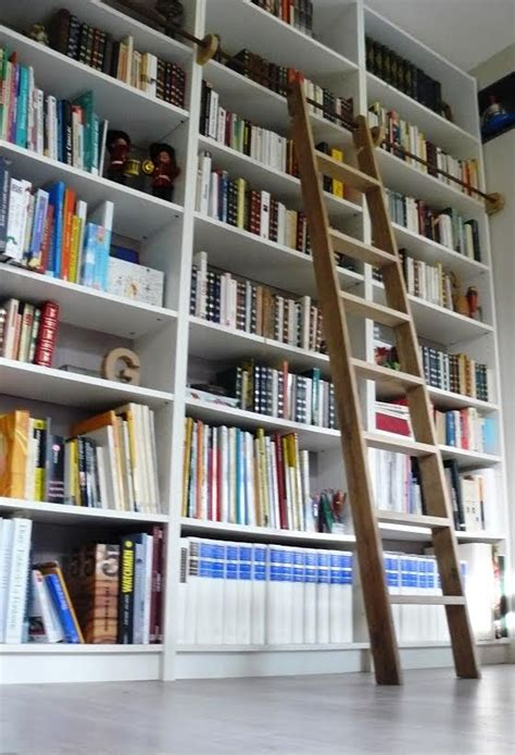 ikea cuisine blanche une échelle de bibliothèque billy bidouilles ikea