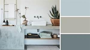 comment adopter les couleurs tendance 2017 dans la salle With wonderful quelle couleur pour des wc 17 retour dans la salle de bain