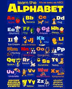 35 Best Printable Alphabet Posters Designs Free