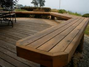 Bathroom Bench Ideas Outdoor Seating Traditional Deck By A Dependable Contractor