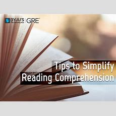 Gre Reading Comprehension 4 Tips And Strategies
