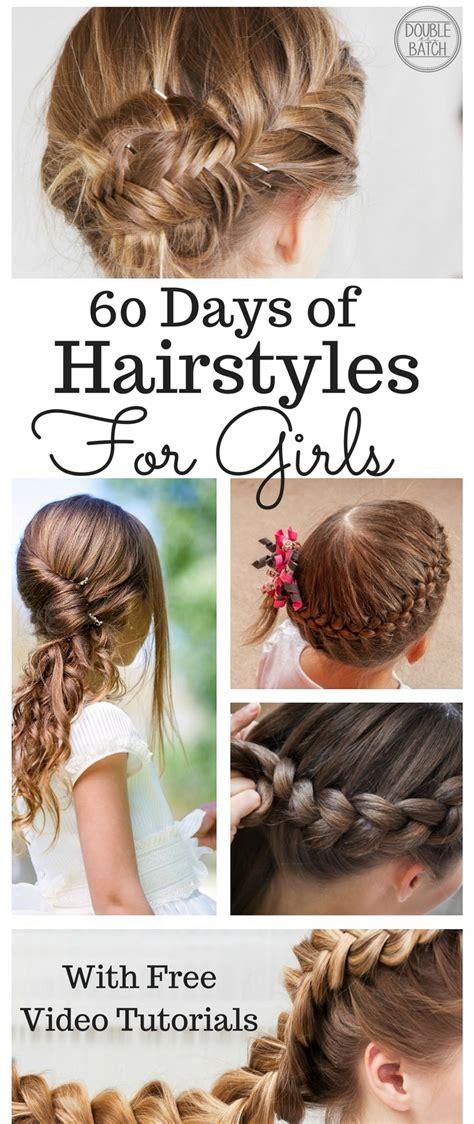 Hairstyle Tutorials For Little Girls Uplifting Mayhem