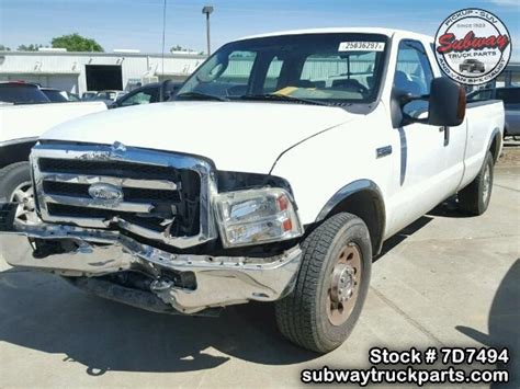 online auto repair manual 1992 ford f250 windshield wipe control used parts 2006 ford f250 5 4l 4x2 subway truck parts inc auto recycling since 1923